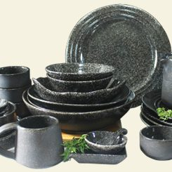 Black Ware Spot Collection